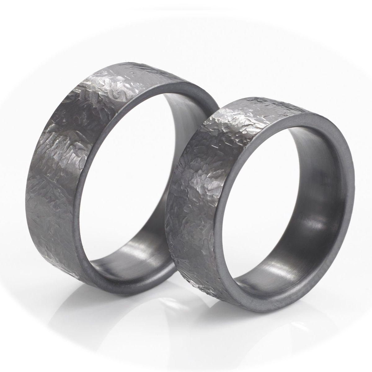Tantal Hochzeitsringe | Ringe aus Tantal | True Love Collection No:17