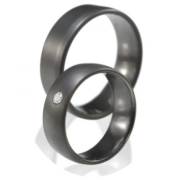 Tantal Eheringe | Ringpaar True Love Collection No:7