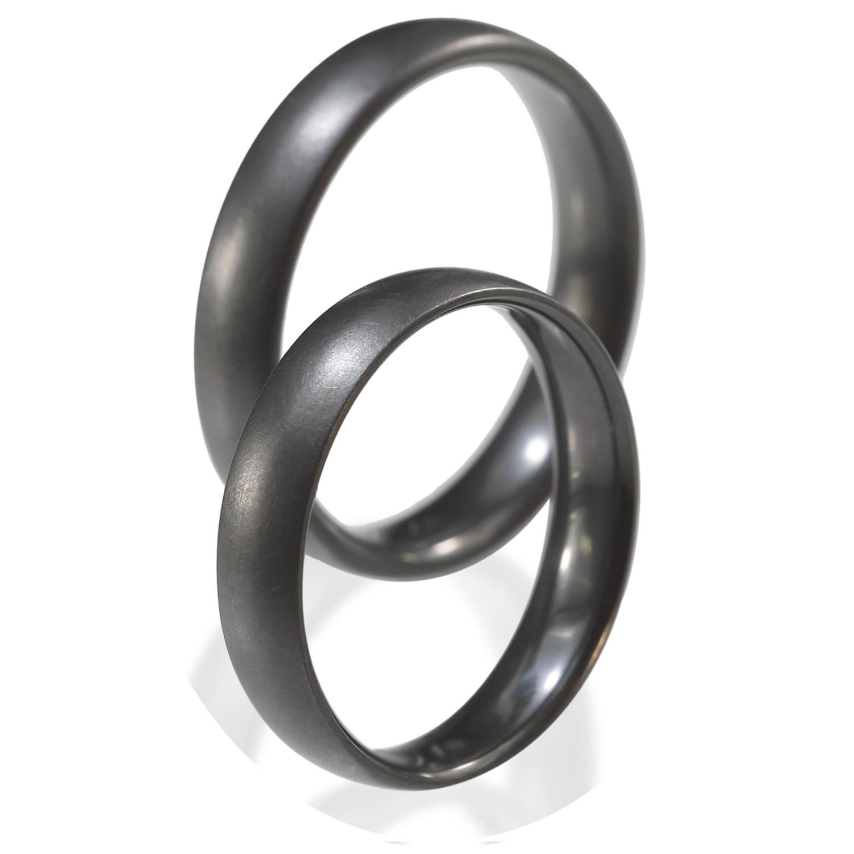 Tantal Eheringe | Tantal Ringpaar True Love Collection No:8