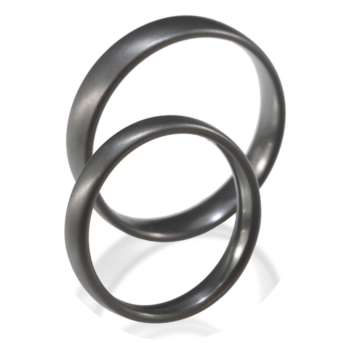 Tantal Hochzeitsringe | Ehering | Ringpaar True Love Collection No:5