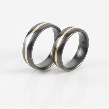 Tantal Ringpaar   Tantal Ehering True Love Collection No:24