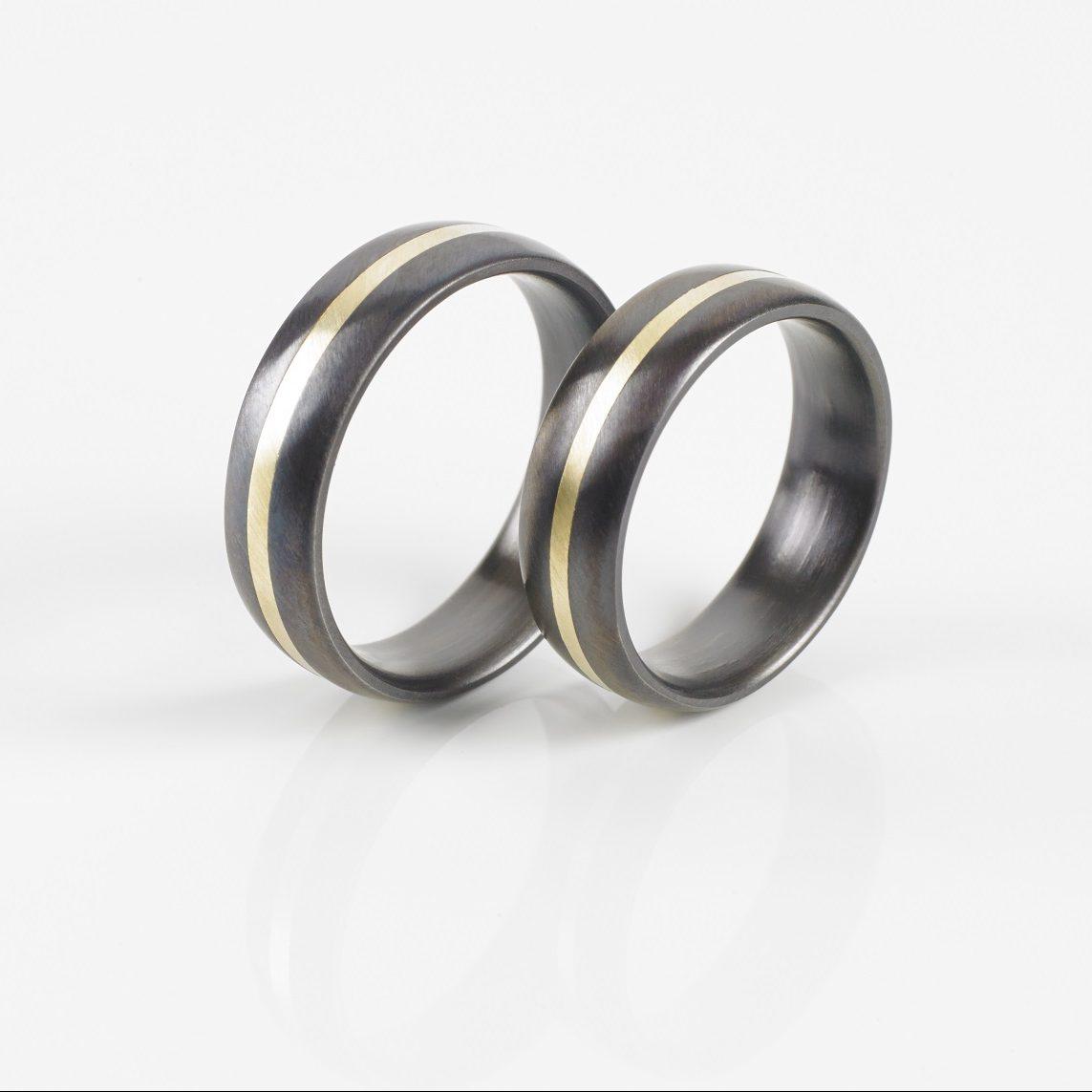 Tantal Ringpaar | Tantal Ehering True Love Collection No:24