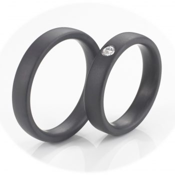 Tantal Ringpaar | Tantal Schmuck True Love Collection No:14