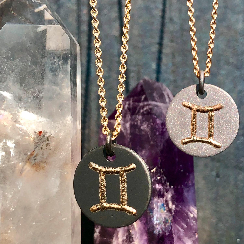 Tantal Anhänger Sternzeichen | Zodiac Halskette Star Collection No:3
