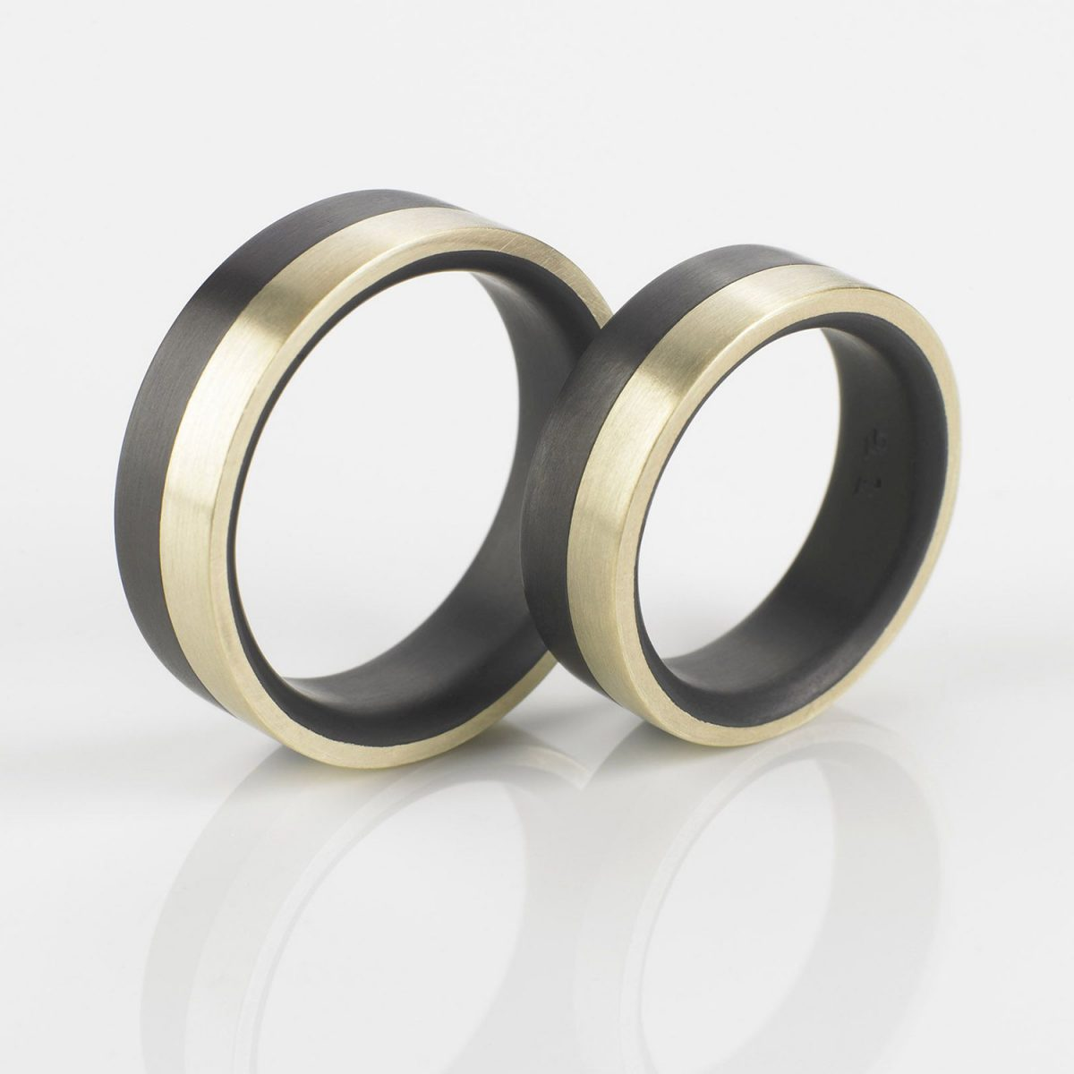 Tantal Ehering | Hochzeitsringe | Ringpaar True Love Collection No:32