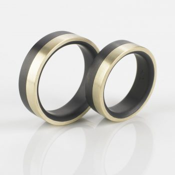 Tantal Ehering | Hochzeitsringe | Ringpaar True Love Collection No:32