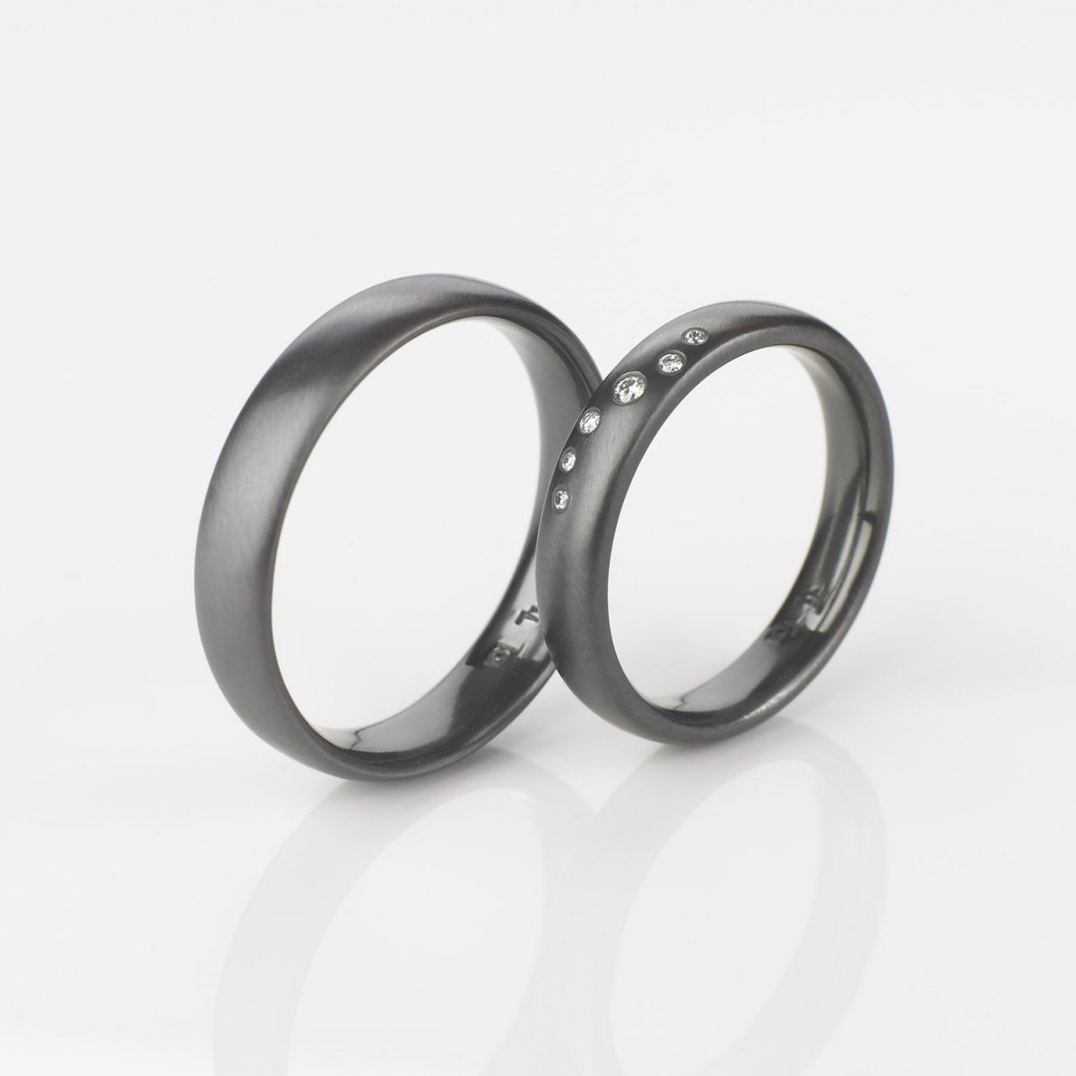 Tantal Eheringe | Hochzeitsringe | Ringpaar True Love Collection No:34