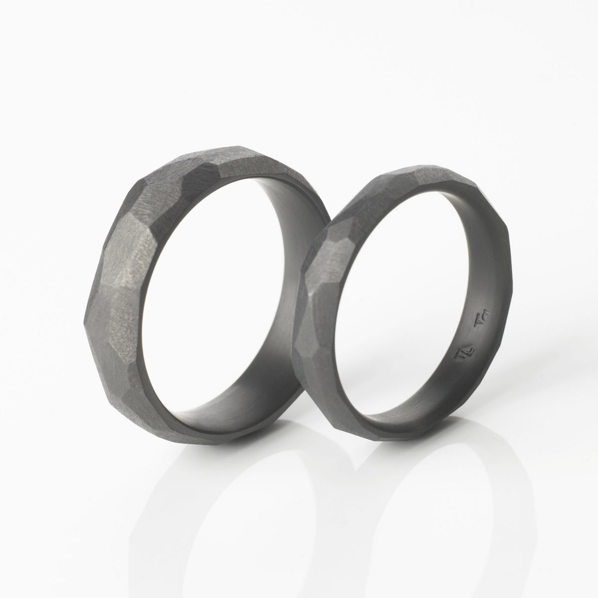 Tantal Eheringe | Hochzeitsringe | Ringpaar True Love Collection No:36