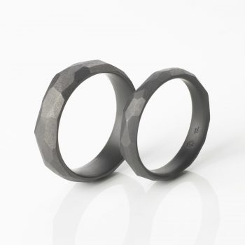 Tantal Eheringe | Hochzeitsringe | Ringpaar True Love Collection No:36