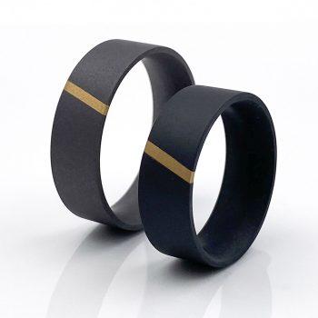 Tantal Hochzeitsringe Ringpaar True Love Collection No:45