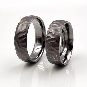 Tantal Eheringe | Ringpaar True Love Collection No:42