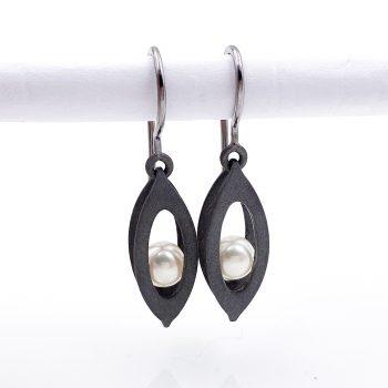 Tantal Ohrhänger mit Perlen Unique Pieces Collection No.04
