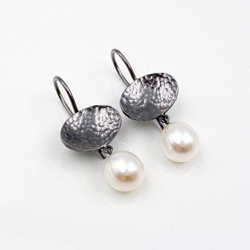 Tantal Ohrhänger mit Perlen Unique Pieces Collection No.02